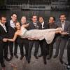 Gruppenfoto mit Braut