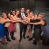 Gruppenfoto mit Bräutigam